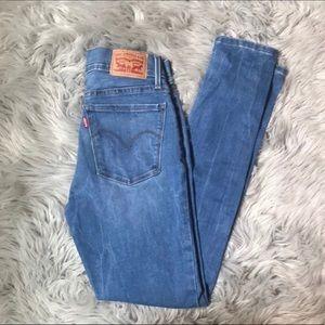 NWOT Levi's 710 Super Skinny Jeans